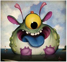 Demented Little Beasties © Bill Mayer 2012