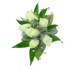 37 Best White Prom Flowers Images Prom Flowers Wedding Bouquets