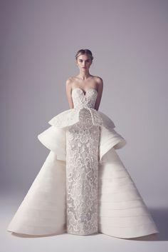 Extravagant Wedding Dresses from Haute Couture Spring 2016 - - Extravagant Wedding Dresses from Haute Couture Spring 2016 - Extravagant Wedding Dresses, Best Wedding Dresses, Bridal Dresses, Wedding Styles, Trendy Wedding, Peplum Wedding Dress, Modest Wedding, Gift Wedding, Wedding Blog