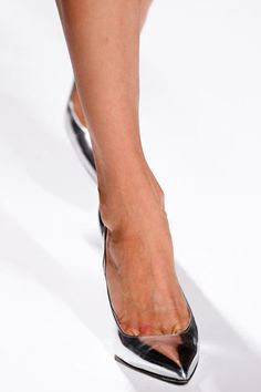 Okay, It's Decided: The Pointy, Metallic Heel Is THE Shoe of Paris Fashion Week: Dressed