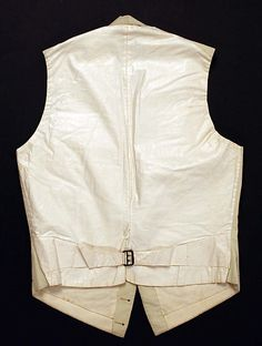 Vest  Date: 1855 Culture: American Medium: wool, cotton