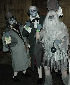 Hot The Haunted Mansion Cast Cosplay Costume Halloween CosplayRR111