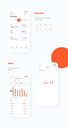 is my entry for a fitness app challenge. The idea behind is just a regular . -This is my entry for a fitness app challenge. The idea behind is just a regular . - Analysis APP dribbble Rodman Mobile UI Kit on Behance Fitness app for IOS by Arjun K Mobile App Design, Mobile Ui, Design Web, App Ui Design, Interface Design, Design Trends, Modern Design, Fitness Tracker App, Fitness App