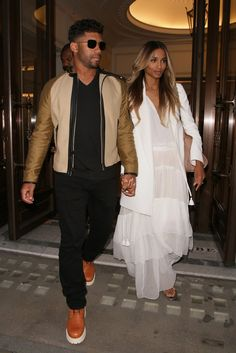 Pin for Later: Ciara and Russell Wilson Step Out For the First Time Since Their Surprise Wedding