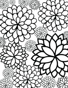 Flower Coloring Sheets Printable bursting blossoms flower coloring page flower coloring Flower Coloring Sheets Printable. Here is Flower Coloring Sheets Printable for you. Flower Coloring Sheets Printable free coloring pages flowers afric. Flower Coloring Sheets, Printable Flower Coloring Pages, Free Printable Coloring Sheets, Pattern Coloring Pages, Coloring Pages To Print, Coloring Book Pages, Kids Coloring Sheets, Printable Flower Pictures, Spring Coloring Pages