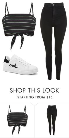 """""""Untitled #25"""" by evelinefeitosaneres on Polyvore featuring Topshop"""