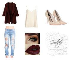 """Sem título #135"" by gabriela-tomlinson on Polyvore featuring moda, Sophia Webster e River Island"