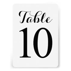 Discount DealsModern Script Table 10 | Table Numbers CardThis site is will advise you where to buy