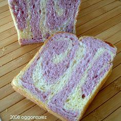 Purple Yam Swirl Loaf