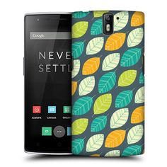 Head Case Designs Fresh Leaf Patterns Protective Snap-on Hard Back Case Cover for OnePlus One