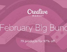 "Check out new work on my @Behance portfolio: ""February Big Bundle"" http://be.net/gallery/62114397/February-Big-Bundle"
