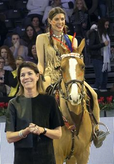 Charlotte Casiraghi, Princess Caroline