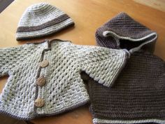 Sweaters and hoodies for the little guys
