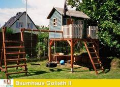 Stelzenhaus - Baumhaus Modell Goliath II