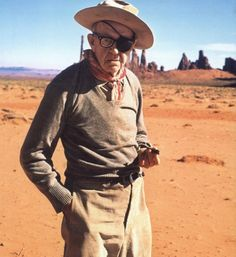 """""""I didn't show up at the ceremony to collect any of my first three Oscars. Once I went fishing, another time there was a war on, and on another occasion, I remember, I was suddenly taken drunk."""" —John Ford"""