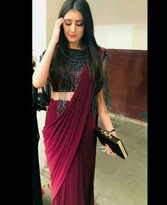 Indian Gowns Dresses, Indian Fashion Dresses, Indian Designer Outfits, Indian Fashion Trends, Latest Designer Sarees, Pakistani Dresses, Indian Sarees, Designer Dresses, Trendy Sarees