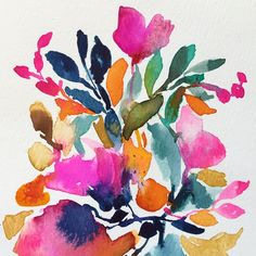 Joy Charde floral print design