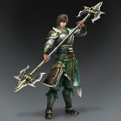 Jiang Wei & Weapon (Shu Forces)
