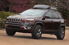 jeep cherokee Trail Carver Mopar