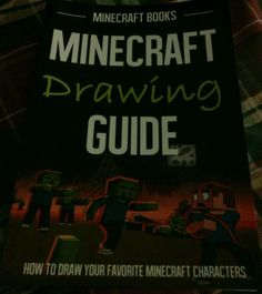 Reduced to $24.99 w/FREE shipping and Relisted-Minecraft Books - Minecraft Drawing Guide - How to Draw your Favorite Minecraft