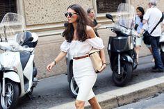 Italian beauty outfit