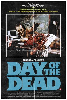 I have always enjoyed zombie movies and books. The first one I remember seeing was George Romero's Night Of The Living Dead Horror Movie Posters, Movie Poster Art, Zombie Movies, Scary Movies, Arte Horror, Horror Art, Halloween Movie Night, Badass Movie, Monsters