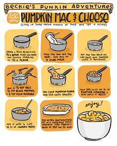 Pumpkin Mac and Cheese via Sauceome