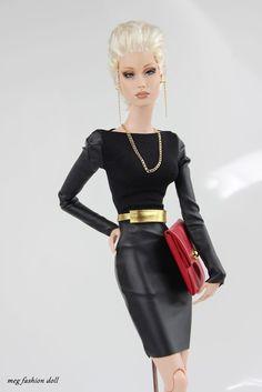 *Meg* outfit for Sybarite/FR16/Fashion Royalty16/FR// ''Black I''