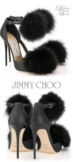 Boots with the Fur, Jimmy Choo Dolly, FW 2015, fashion week, black, black fur heels, high heels