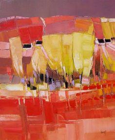 Hervé LENOUVEL - www.art-et-avenir.fr Abstract Landscape Painting, Landscape Art, Landscape Paintings, Abstract Art, Art Moderne, Tree Art, Contemporary Paintings, Abstract Expressionism, Land Scape
