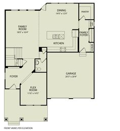 Drees homes quentin floor plan