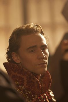 Tom Hiddleston as Henry V in The Hollow Crown