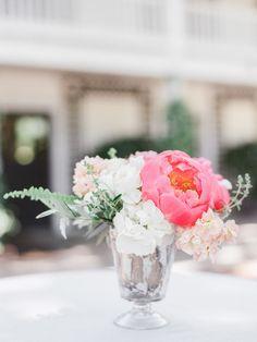 Featured Photographer: Lori Paladino Photography; wedding centerpiece idea