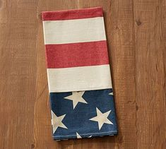 American Flag Tea Towel #potterybarn