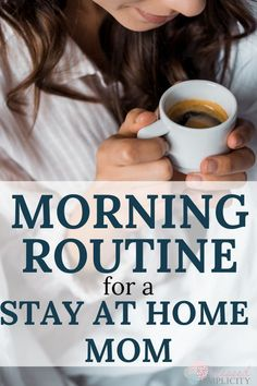 How to Create a Morning Routine for Stay at Home Moms – Blessed Simplicity – hautpflege gesicht Bedtime Routine, Morning Routines, Daily Routines, Daily Schedules, Fitness Routines, Workout Fitness, Mom Schedule, Blessed, Special Needs Mom