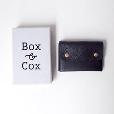 Box & Cox ボックス・アンド・コックス/ Rooms - leather mulchcase : navy ルームス レザー マルチ ケース ネイビー - struct / blueover WONDER BAGGAGE 大阪 セレクトショップ