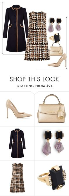 """""""Untitled #203"""" by nativedoll ❤ liked on Polyvore featuring Gianvito Rossi, MICHAEL Michael Kors, Hobbs, Marni and Dolce&Gabbana"""