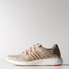 adidas Pure Boost Shoes Natural Grey