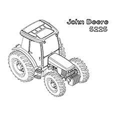 john deere construction coloring pages - photo#24