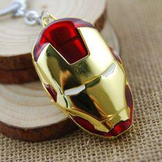 Avengers Key Chain Iron Man Mask
