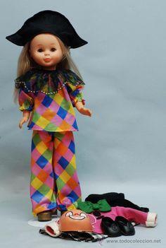 Muñeca Nancy rubia con disfraces. Nancy años 80 en todocoleccion.
