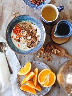 Tahini Orange Coconu