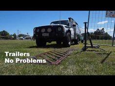 OzAutogate Powerless Automatic Gate. - YouTube