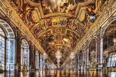 Inside of Versailles