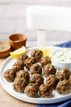 greek paleo meatballs