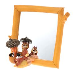 14.04 Stand mirror NEW LIFE chip & Dale (japan_
