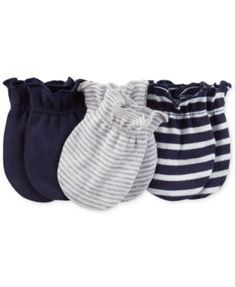 Carter's Baby Boys' 3-Pack Mitts