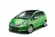 Nasz przyjazny rodzinny elektryczny samochód. Honda-Hybrid-car-Jazz-Hybrid