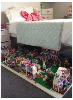 Outdoor Toy Storage, Ikea Toy Storage, Storage Hacks, Craft Storage, Bedroom Storage, Storage Ideas, Plastic Storage, Bedding Storage, Storage Cart