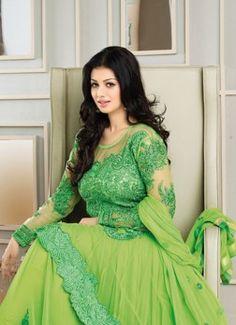 Ayesha Takia In Parrot Neck Floor Length Anarkali Suit buy best designer sarees collections,Best Deals On Womens Wear online store, Best Deals On Anarkali salwar Kameez, End of Season Sale on Designer Dress Matirials and Kurti #dress #salwarkameez #cotton #designer #readymad #fancydress #Anarkali #Paiala #Punjabi #Casual #Long #Cotton #long #saree #designer #printedsaree #casualwear #casualstyle #casualsaree #silksarees